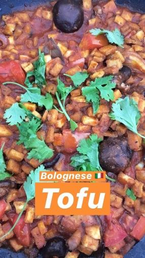 Bolognese Tofu