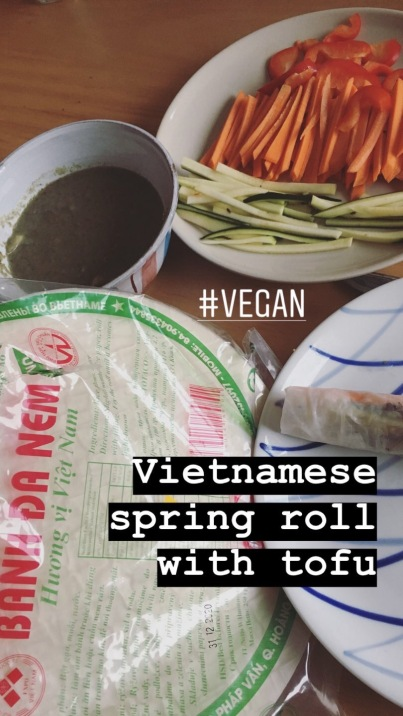Vietnamese Spring Roll with Tofu
